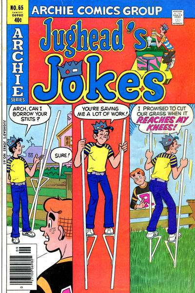 Jughead's Jokes #65 comic books for sale