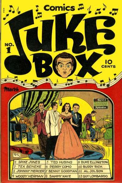 Juke Box Comic Books. Juke Box Comics.