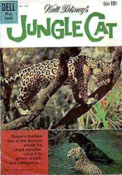 Jungle Cat #1 comic books - cover scans photos Jungle Cat #1 comic books - covers, picture gallery