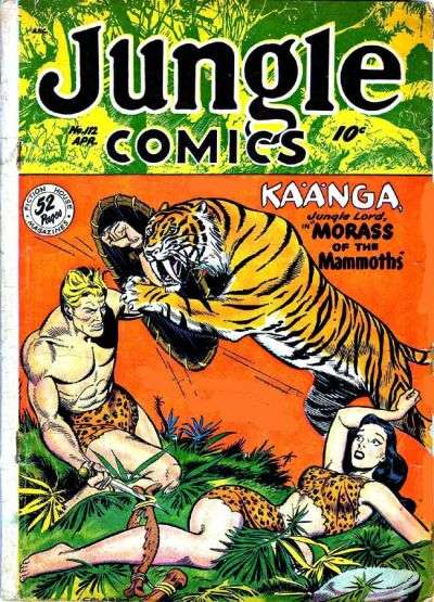 Jungle Comics #112 Comic Books - Covers, Scans, Photos  in Jungle Comics Comic Books - Covers, Scans, Gallery