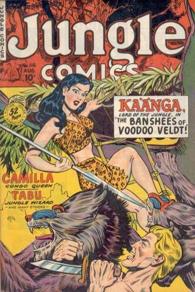 Jungle Comics #116 Comic Books - Covers, Scans, Photos  in Jungle Comics Comic Books - Covers, Scans, Gallery