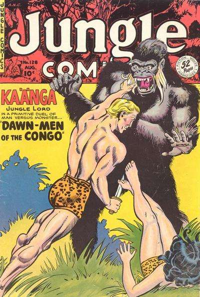 Jungle Comics #128 Comic Books - Covers, Scans, Photos  in Jungle Comics Comic Books - Covers, Scans, Gallery