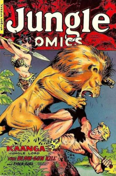 Jungle Comics #159 Comic Books - Covers, Scans, Photos  in Jungle Comics Comic Books - Covers, Scans, Gallery