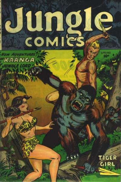 Jungle Comics #162 Comic Books - Covers, Scans, Photos  in Jungle Comics Comic Books - Covers, Scans, Gallery