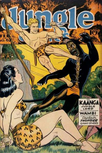 Jungle Comics #62 Comic Books - Covers, Scans, Photos  in Jungle Comics Comic Books - Covers, Scans, Gallery