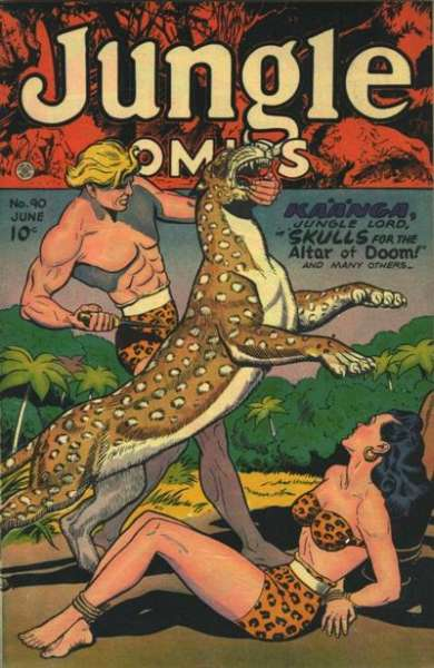 Jungle Comics #90 Comic Books - Covers, Scans, Photos  in Jungle Comics Comic Books - Covers, Scans, Gallery
