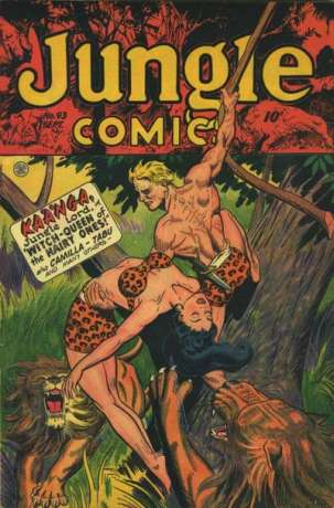 Jungle Comics #93 Comic Books - Covers, Scans, Photos  in Jungle Comics Comic Books - Covers, Scans, Gallery