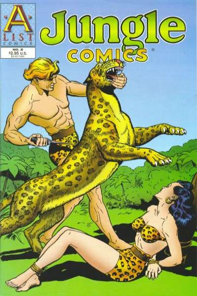 Jungle Comics #2 Comic Books - Covers, Scans, Photos  in Jungle Comics Comic Books - Covers, Scans, Gallery