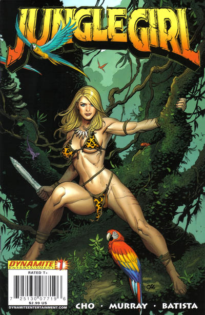 Jungle Girl Comic Books. Jungle Girl Comics.