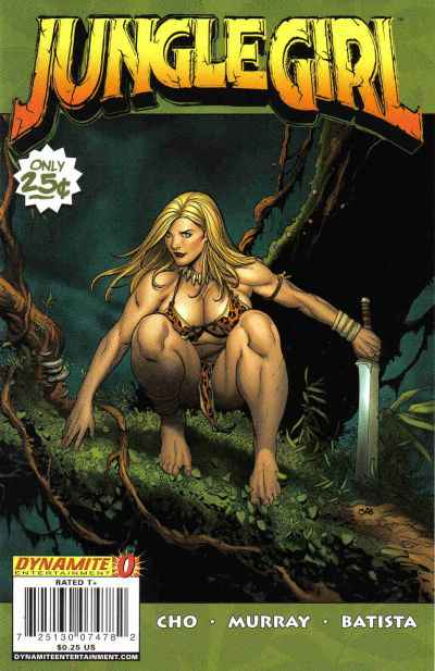 Jungle Girl #1 comic books - cover scans photos Jungle Girl #1 comic books - covers, picture gallery