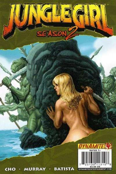 Jungle Girl Season 2 #4 comic books - cover scans photos Jungle Girl Season 2 #4 comic books - covers, picture gallery