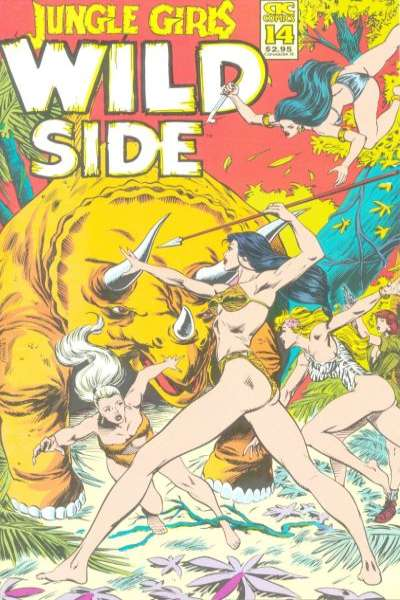 Jungle Girls #14 comic books for sale