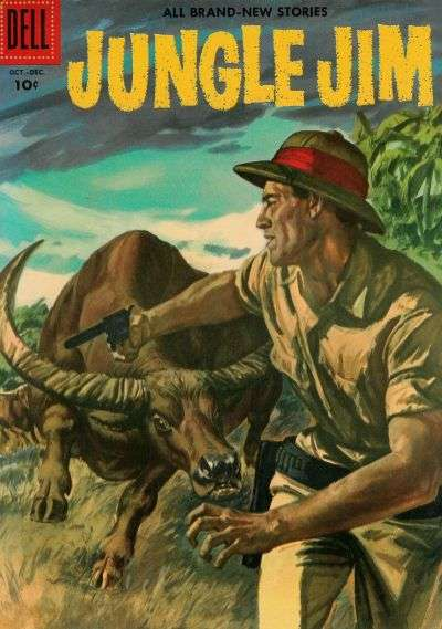 Jungle Jim #10 comic books for sale