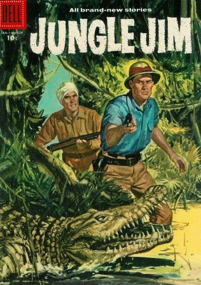 Jungle Jim #11 comic books for sale