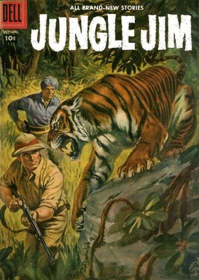 Jungle Jim #14 comic books for sale