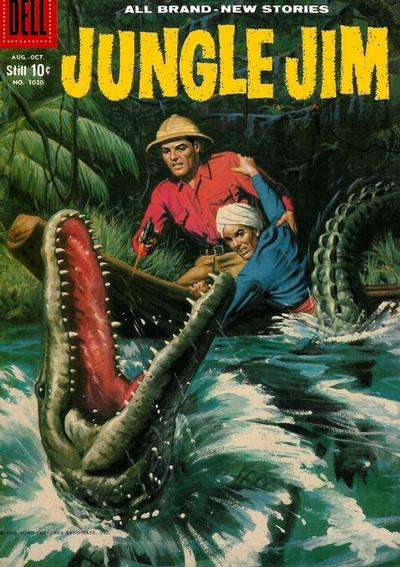 Jungle Jim #20 comic books - cover scans photos Jungle Jim #20 comic books - covers, picture gallery
