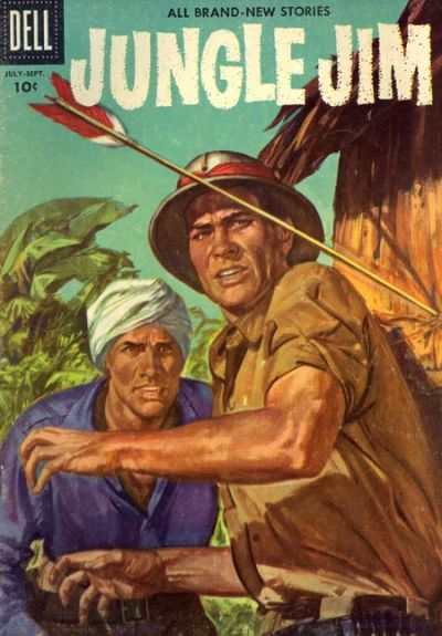 Jungle Jim #9 Comic Books - Covers, Scans, Photos  in Jungle Jim Comic Books - Covers, Scans, Gallery