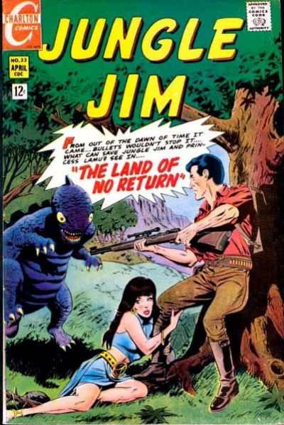 Jungle Jim #23 comic books - cover scans photos Jungle Jim #23 comic books - covers, picture gallery
