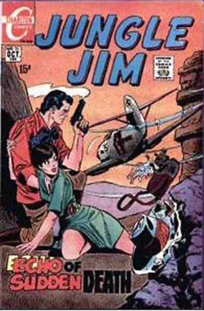Jungle Jim #26 comic books - cover scans photos Jungle Jim #26 comic books - covers, picture gallery