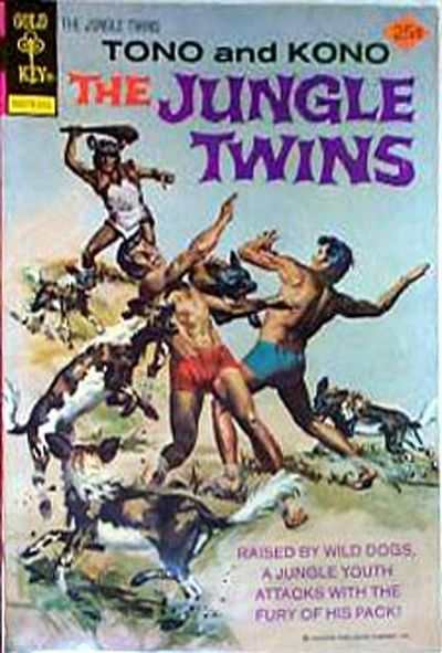 Jungle Twins #17 Comic Books - Covers, Scans, Photos  in Jungle Twins Comic Books - Covers, Scans, Gallery