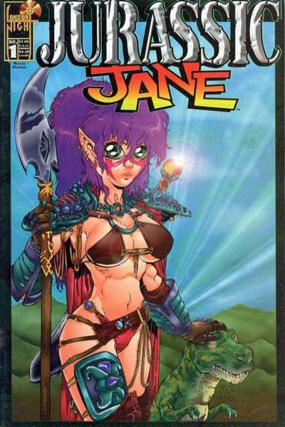 Jurassic Jane comic books