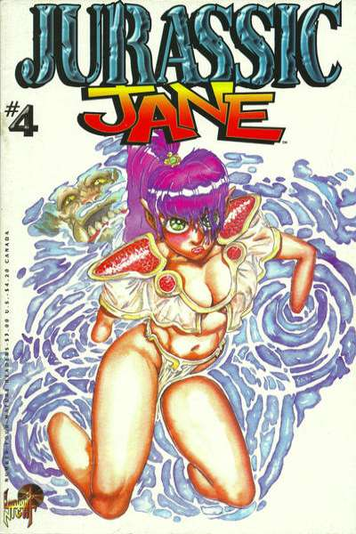 Jurassic Jane #4 Comic Books - Covers, Scans, Photos  in Jurassic Jane Comic Books - Covers, Scans, Gallery