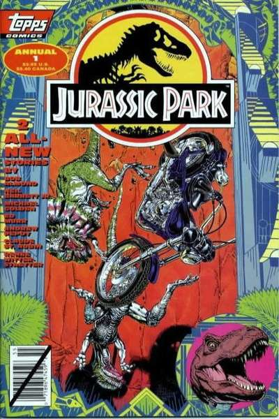 Jurassic Park #1 comic books for sale
