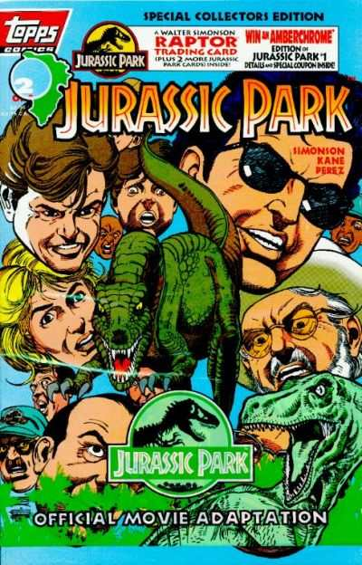 Jurassic Park #2 comic books - cover scans photos Jurassic Park #2 comic books - covers, picture gallery