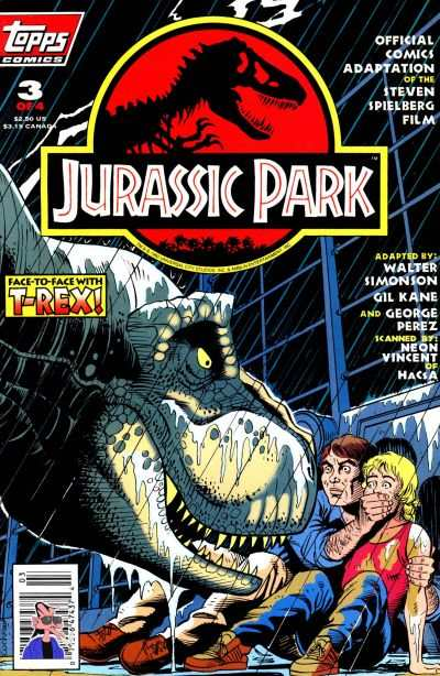 Jurassic Park #3 comic books - cover scans photos Jurassic Park #3 comic books - covers, picture gallery
