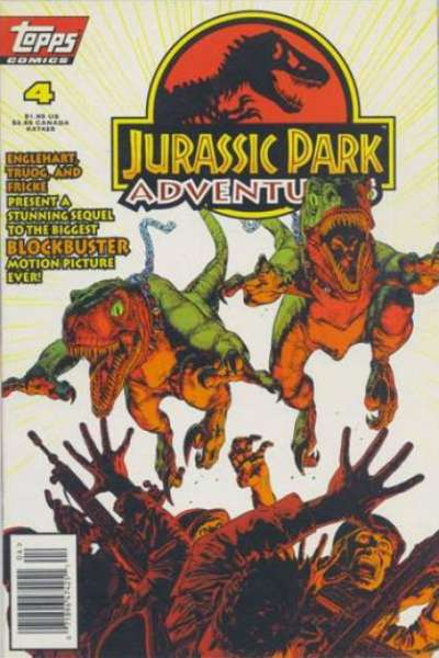 Jurassic Park Adventures #4 Comic Books - Covers, Scans, Photos  in Jurassic Park Adventures Comic Books - Covers, Scans, Gallery