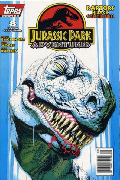 Jurassic Park Adventures #8 Comic Books - Covers, Scans, Photos  in Jurassic Park Adventures Comic Books - Covers, Scans, Gallery