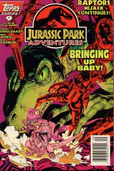 Jurassic Park Adventures #9 Comic Books - Covers, Scans, Photos  in Jurassic Park Adventures Comic Books - Covers, Scans, Gallery