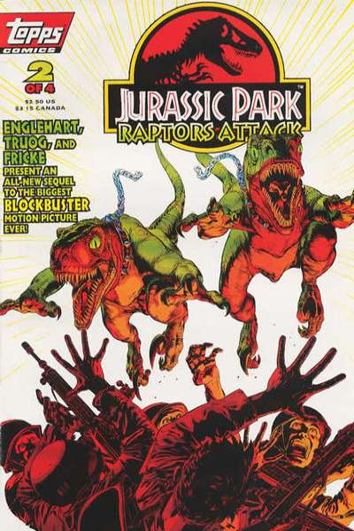 Jurassic Park: Raptors Attack #2 comic books for sale