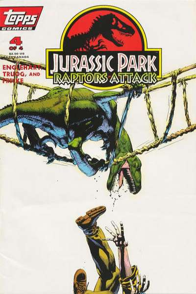 Jurassic Park: Raptors Attack #4 comic books for sale