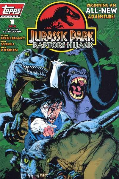 Jurassic Park: Raptors Hijack #1 comic books for sale