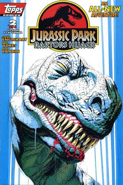 Jurassic Park: Raptors Hijack #2 comic books for sale