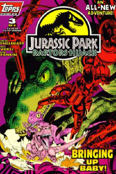 Jurassic Park: Raptors Hijack #3 comic books for sale
