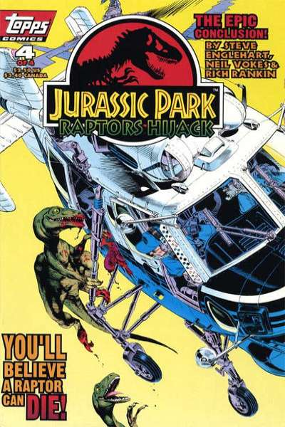 Jurassic Park: Raptors Hijack #4 comic books for sale