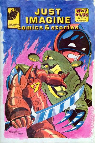 Just Imagine Comics and Stories #7 comic books for sale