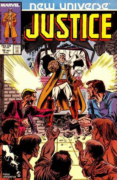 Justice #12 Comic Books - Covers, Scans, Photos  in Justice Comic Books - Covers, Scans, Gallery
