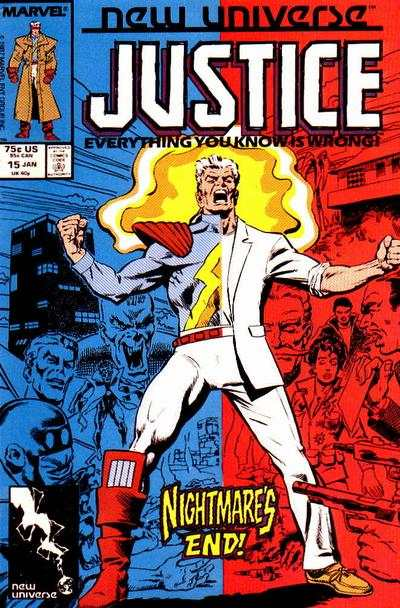 Justice #15 Comic Books - Covers, Scans, Photos  in Justice Comic Books - Covers, Scans, Gallery