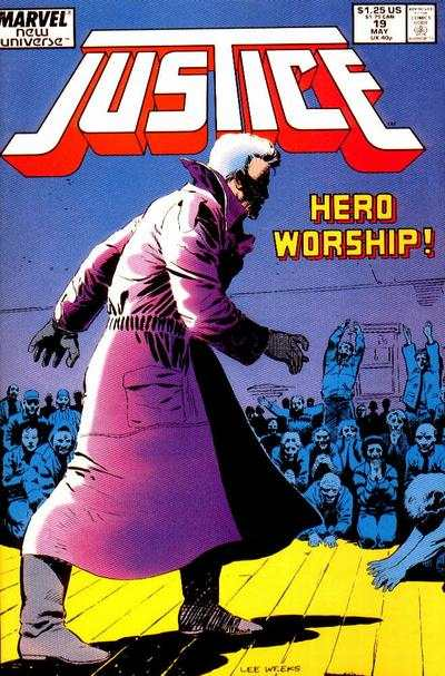 Justice #19 Comic Books - Covers, Scans, Photos  in Justice Comic Books - Covers, Scans, Gallery