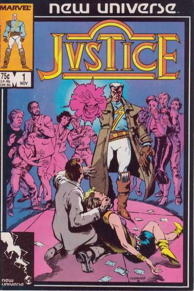 Justice comic books