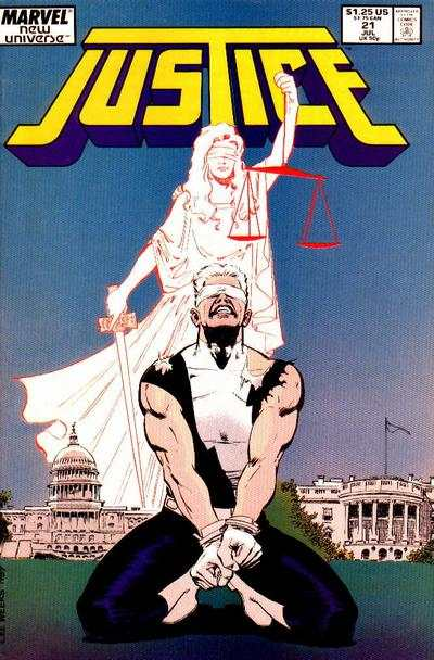 Justice #21 comic books for sale