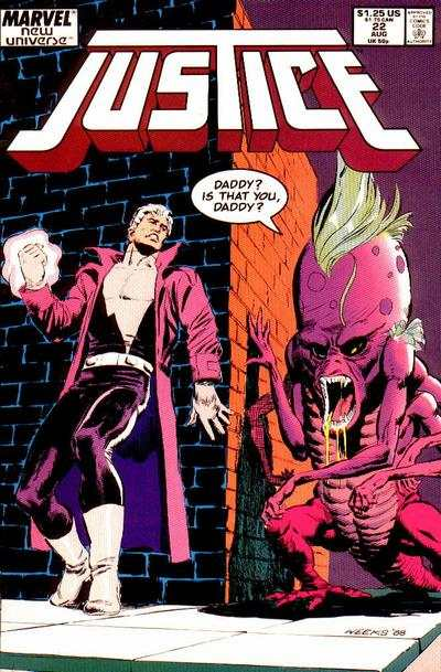 Justice #22 Comic Books - Covers, Scans, Photos  in Justice Comic Books - Covers, Scans, Gallery
