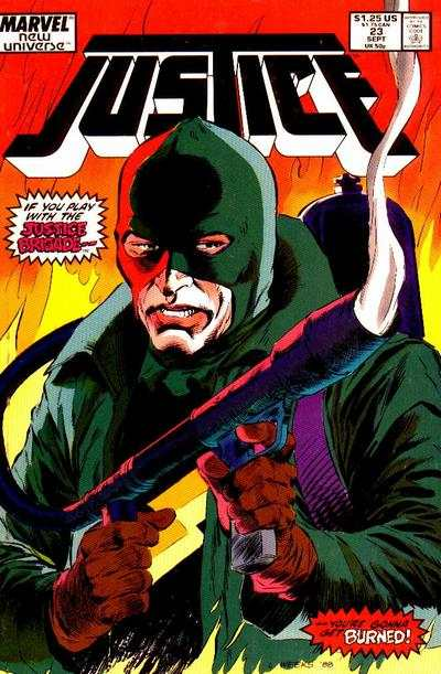 Justice #23 Comic Books - Covers, Scans, Photos  in Justice Comic Books - Covers, Scans, Gallery