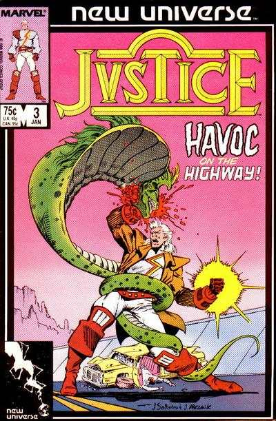 Justice #3 Comic Books - Covers, Scans, Photos  in Justice Comic Books - Covers, Scans, Gallery