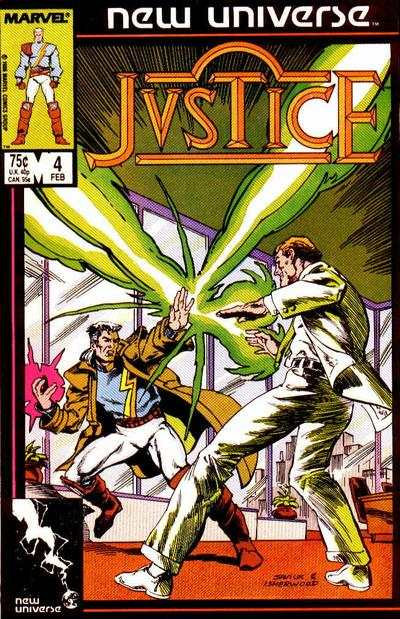 Justice #4 Comic Books - Covers, Scans, Photos  in Justice Comic Books - Covers, Scans, Gallery