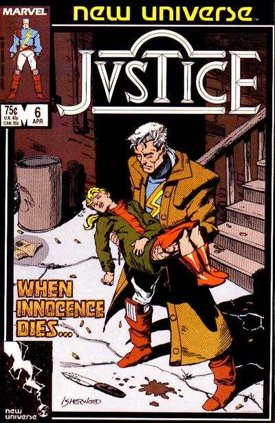 Justice #6 Comic Books - Covers, Scans, Photos  in Justice Comic Books - Covers, Scans, Gallery