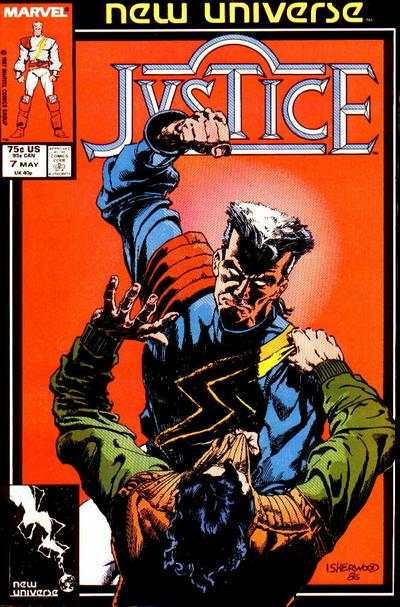 Justice #7 Comic Books - Covers, Scans, Photos  in Justice Comic Books - Covers, Scans, Gallery
